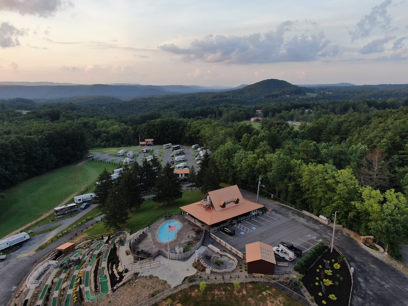 """Brushcreek Falls RV Resort: Becoming the """"destination"""" for vacations and staycations alike"""