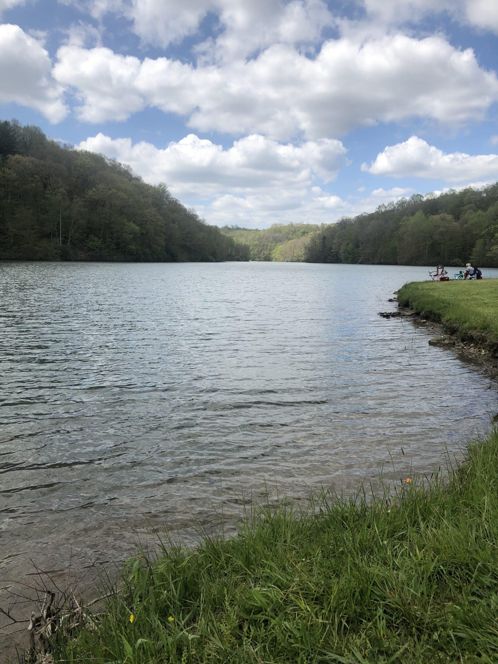 Spend the summer casting a line at Dan Hale Reservoir